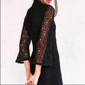 URBAN OUTFITTERS COOPERATIVE Black Lace Dress S 4